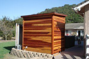 California Redwood sauna and all is well.
