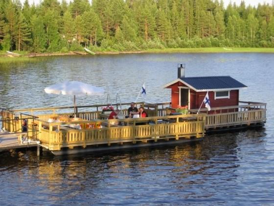 Sauna on the lake