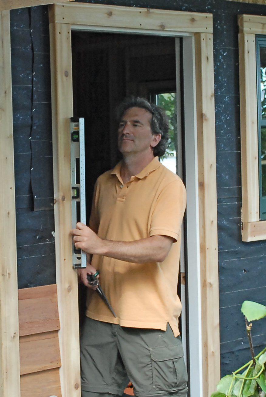 glenn-building-a-sauna