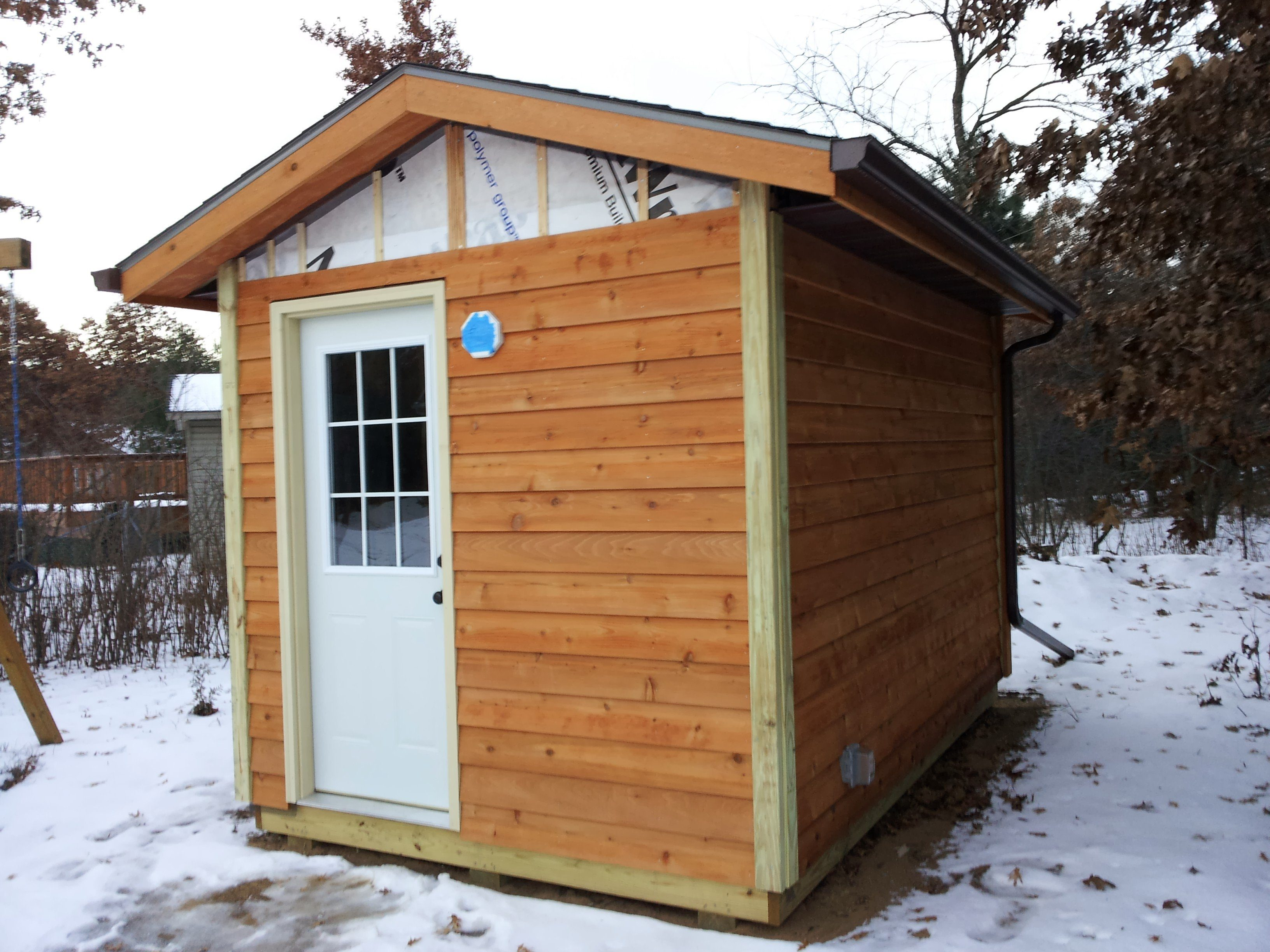 Sauna build in central wisconsin comes off without a hitch for Sauna design plans