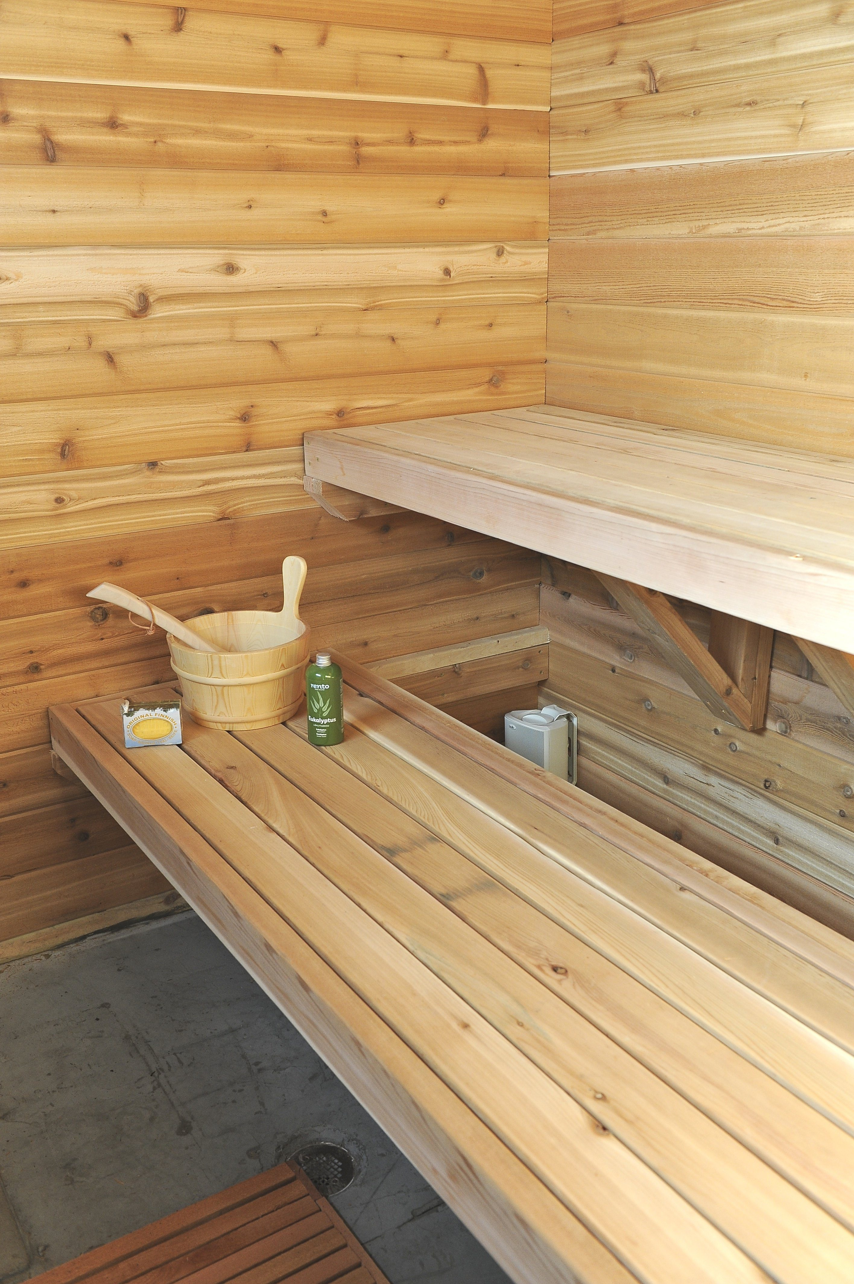 The definitive word on cedar for our saunas saunatimes for Cost to build a sauna