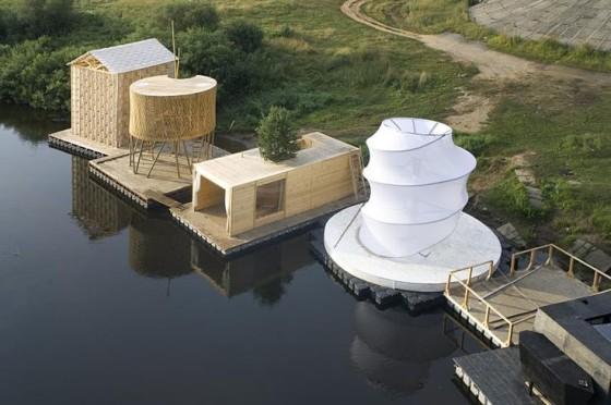 Floating Sauna, Russia