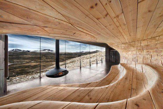 Scandinavian Modern Sauna By Klaas Van Ommeren