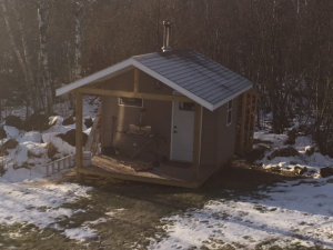 Ben builds an awesome backyard sauna and his only regret may surprise you