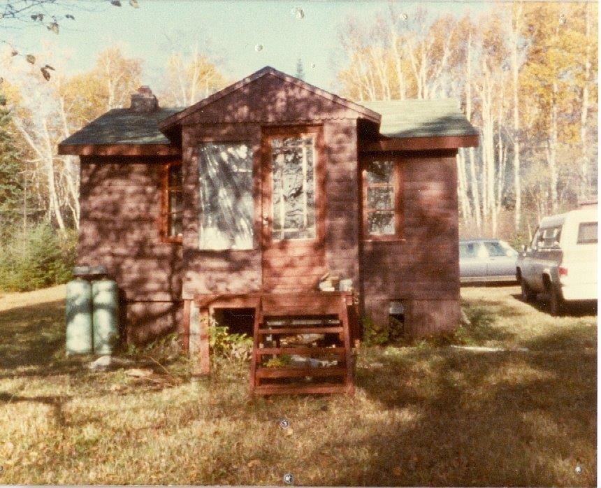 Vern's cabin, circa 1983