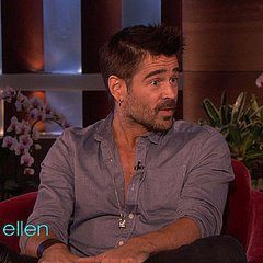 Actor Colin Farrell puts Infrared in its place with Ellen DeGeneres