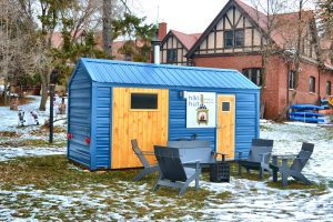Hiki Hut mobile sauna brings the warmth to Duluth, Minnesota, alongside the largest freshwater lake in the World