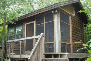A 12'x16′ cabin sauna that's a lot more than just a cabin sauna