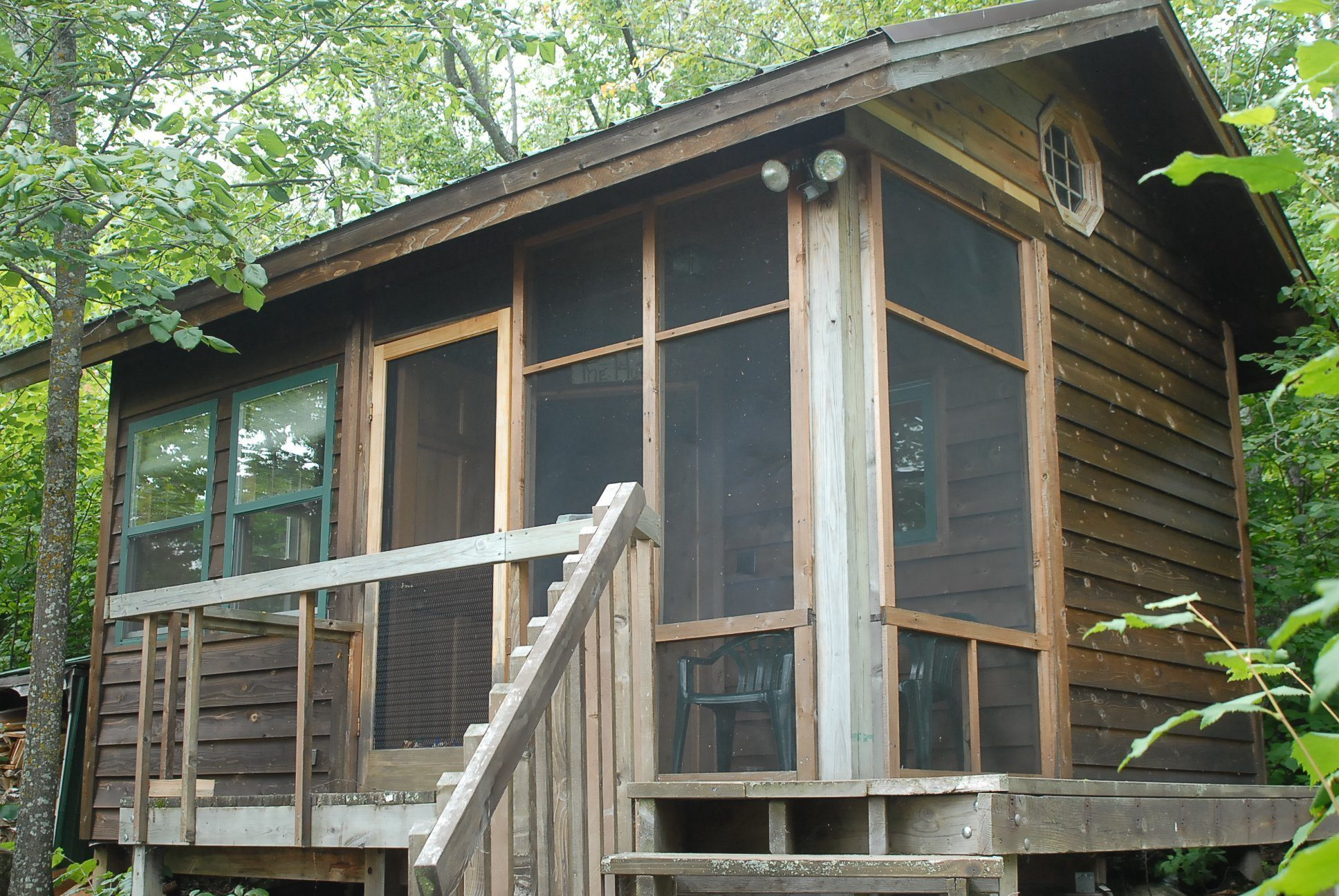 20 years later a sauna insta cabin becomes motivation for for Sleeping cabin plans