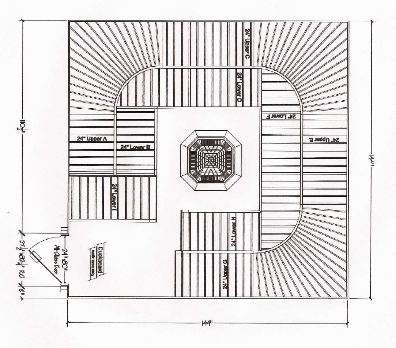 Floor plan saunatimes for Sauna floor plans