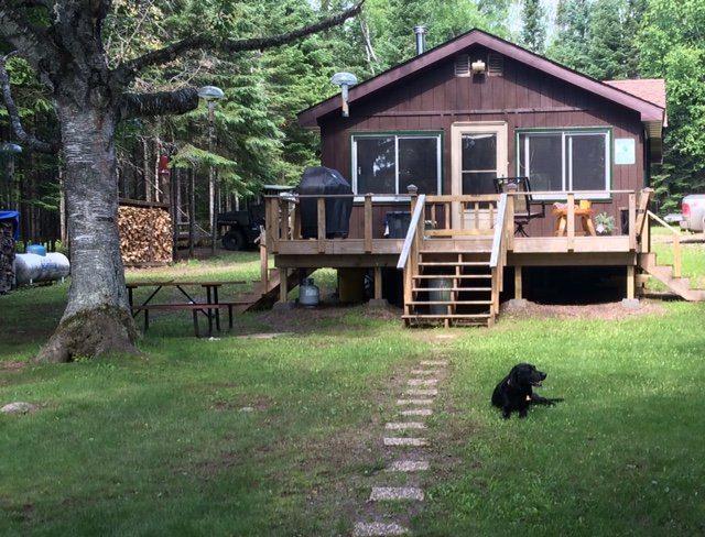 Vern's cabin circa 2014