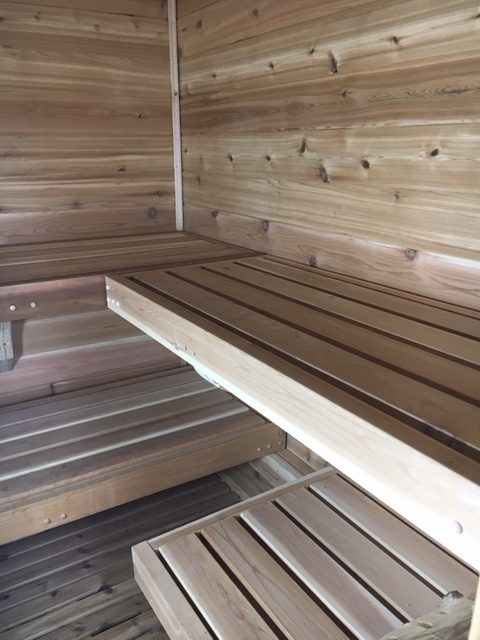What I Learned From Building An Outdoor Sauna With A Wood