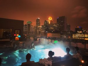 "Downtown Minneapolis Hewing Hotel, with Aufguss sessions and wellness therapy, is quickly becoming a ""Euro style"" sauna party headquarters"