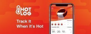 HotLog is the brand new go-to smart phone app to help track your sauna sessions