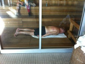 Top 5 reasons why your own sauna is better than a deadbeat health club sauna.