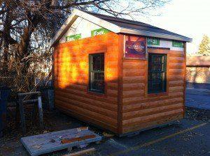 Tis the season to build sauna, fa la la la la
