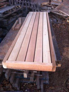 A better sauna bench.
