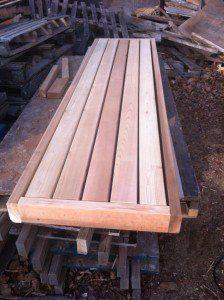 Sauna benches of 1,000 saunas