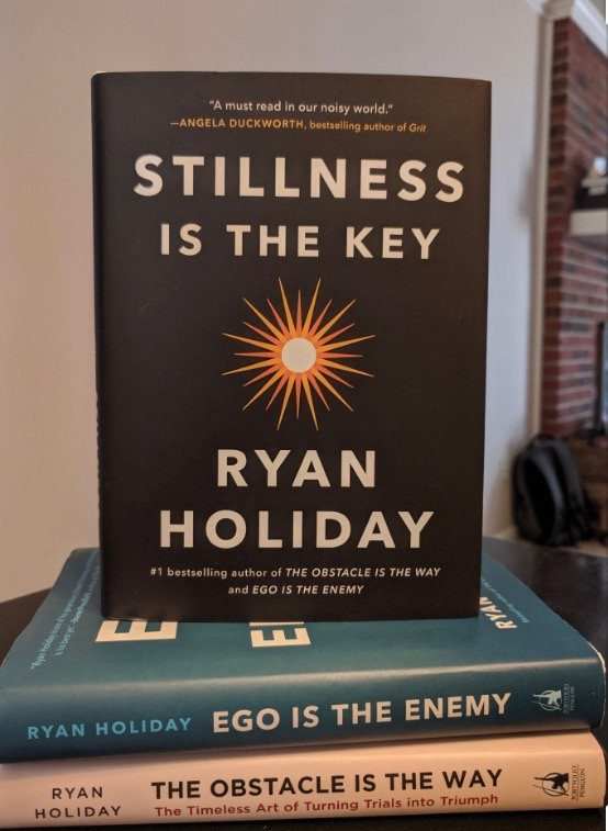 Ryan Holiday Stillness is the Key Sauna