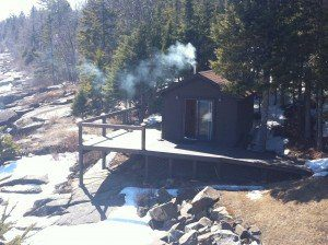 A sauna build along Scenic Highway 61, revisited