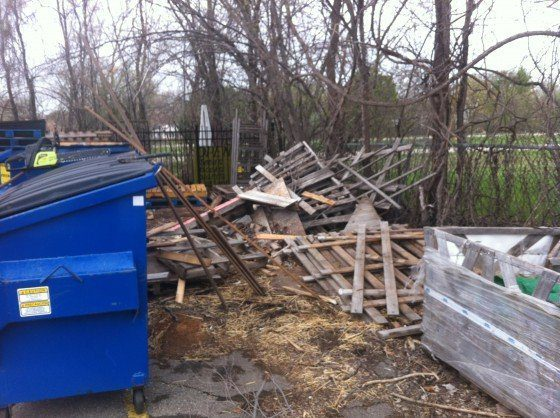 How to turn a neglected corner of your backyard into an for How to build a backyard sauna