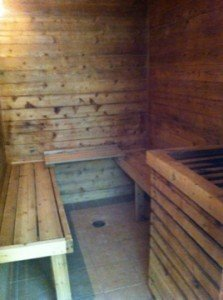 Another hotel sauna thrown under the bus.