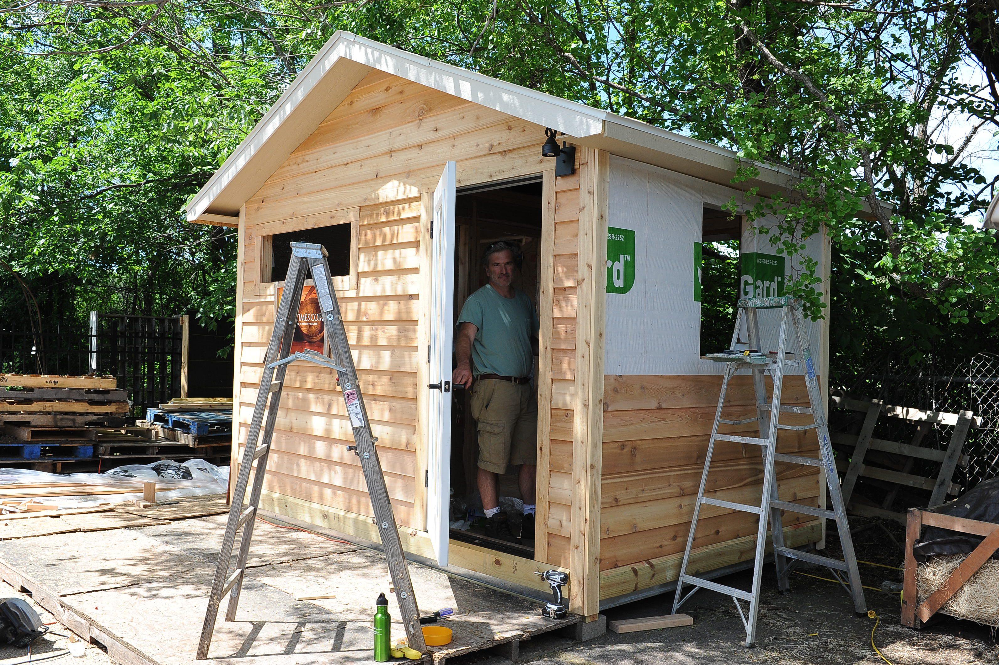 cedar lap siding just may be the exterior bomb saunatimes. Black Bedroom Furniture Sets. Home Design Ideas