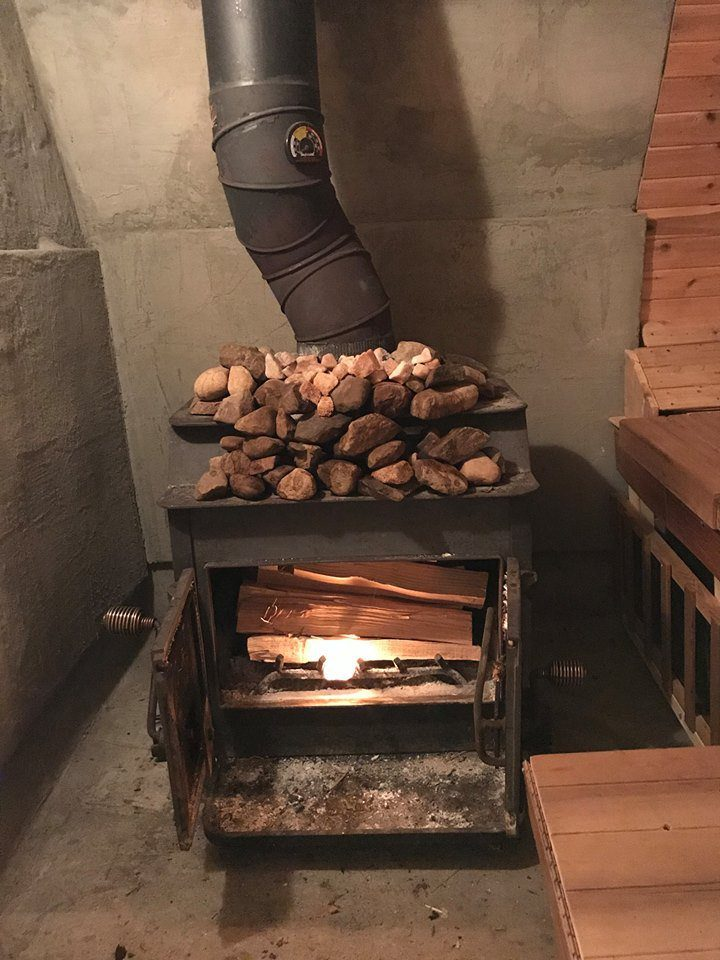 With Our Wood Burning Sauna Stoves The Fuss Is The Muss