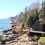 A video tour of a kick ass wood burning sauna along the shores of Lake Superior
