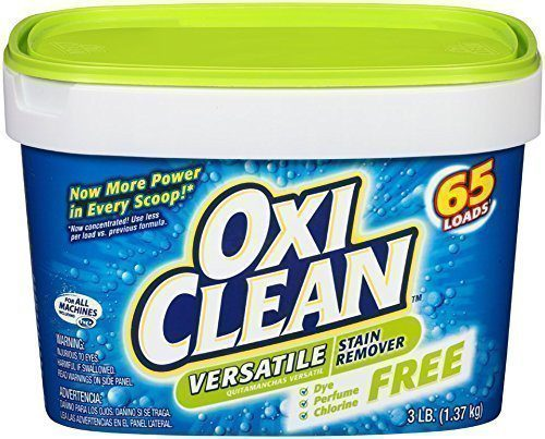 Oxi Clean to clean a sauna