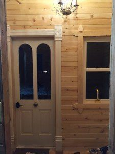 Minnesota backyard sauna DIY built and inspired by Scandinavian influences