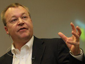 Nokia CEO Stephen Elop becomes a fan of sauna.