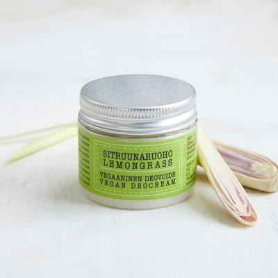 Vegan Lemongrass Deocream