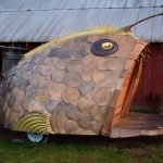 Anglerfish sauna offers an experience of natural forms inspired by life