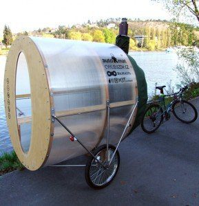 Portable Bike Sauna Is Incredible