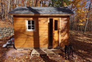 A simple formula:  A good contractor + Sauna Build Start to Finnish ebook = an authentic sauna.