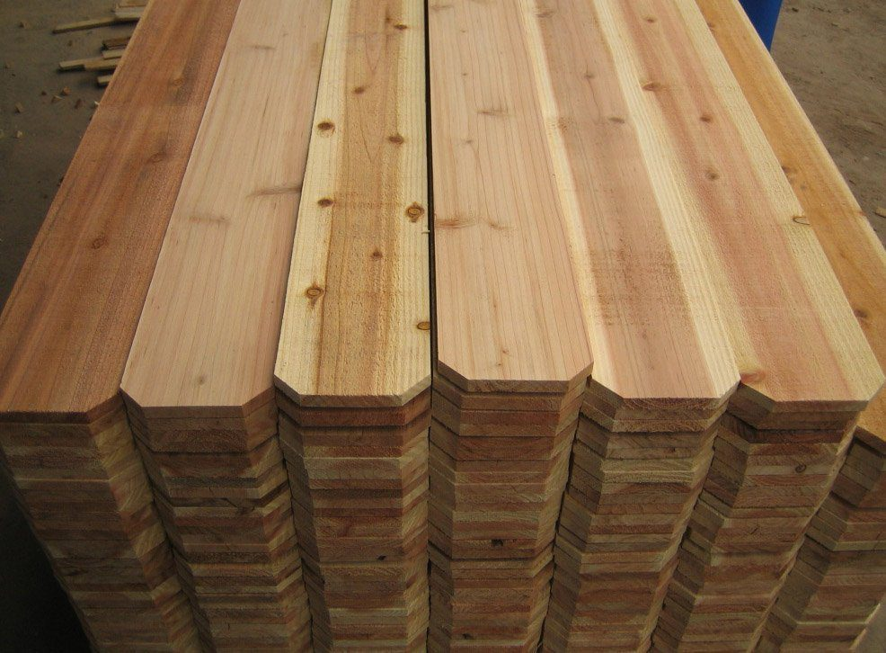 Could Cedar Dog Ear Fence Pickets Be The Sauna Builders