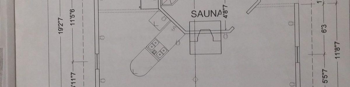 a sauna forward cabin blueprint