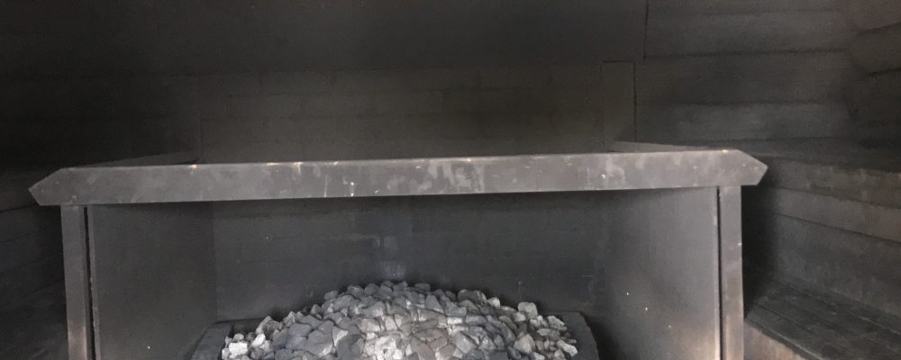 Savusauna (smoke sauna) at Varjola Resort)