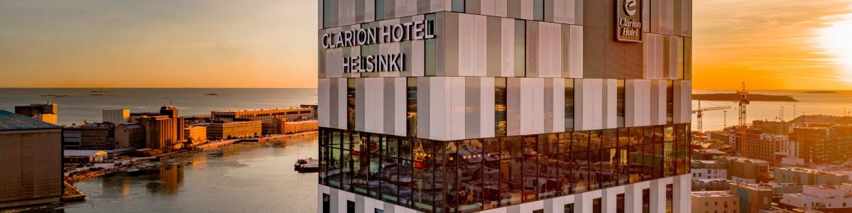 FI016-exterior-sunset-clarion-hotel-helsinki