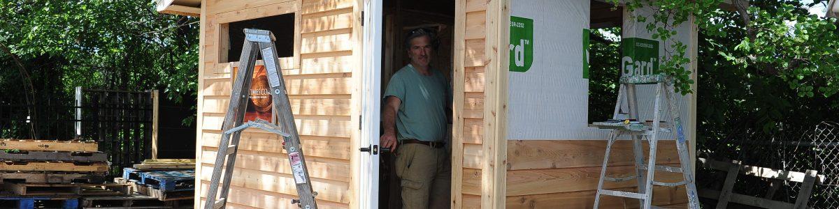 opening the door to your own sauna build