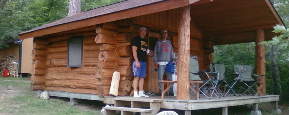 Hand made log sauna, Pine Island, Lake Vermilion, MN