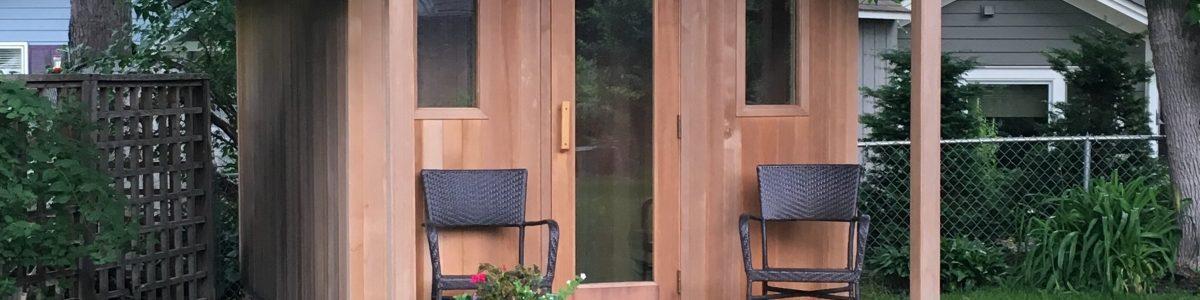 darby sauna finished