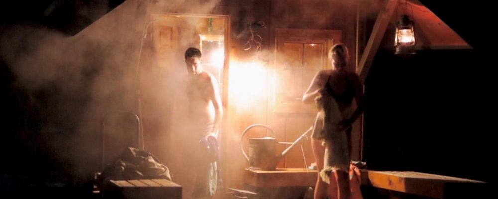 steam billowing (photo Brian Peterson)