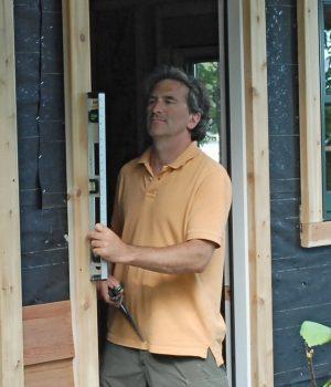 Glenn Building a Sauna
