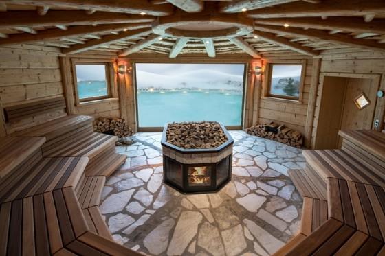 Panoramic Event Sauna