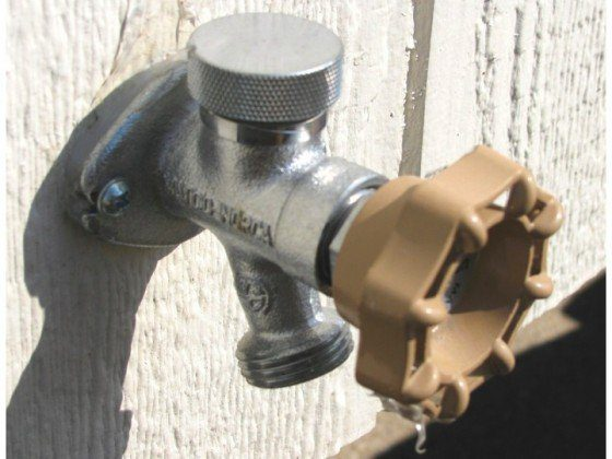 Freeze Proof Faucets Help Backyard Sauna Enthusiasts Chill