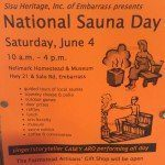 National Sauna Day 2016 celebrates its third year in Embarrass, MN