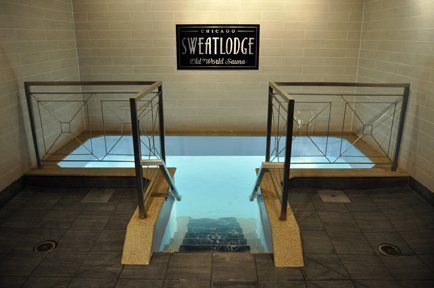 Chicago Sweatlodge plunge pool