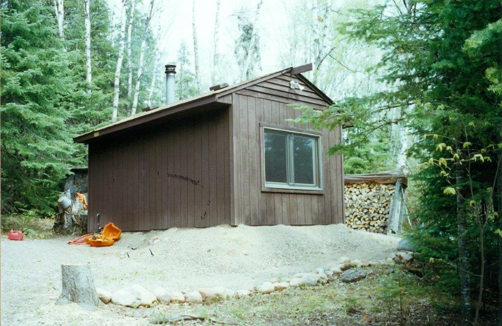 Vern's sauna